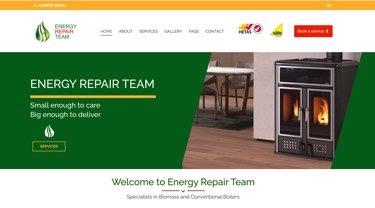 Energy Repair Team web design